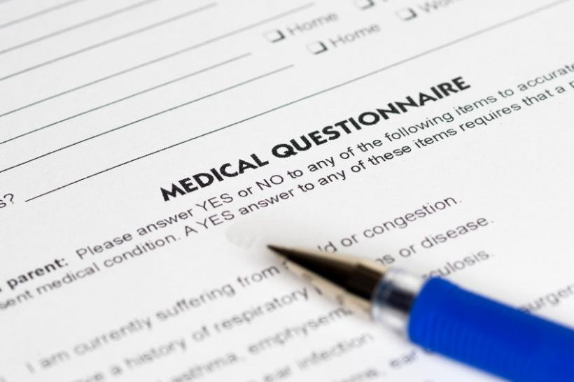 Snowbird Travel Insurance Medical Questionnaire