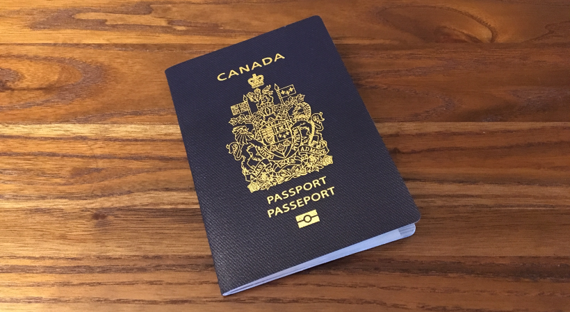 Canadian passport valid for 6 months when travelling to the U.S.