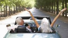 Snowbirds Driving to the U.S. from Canada