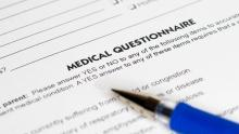 Travel Medical Insurance Questionnaire for Snowbirds